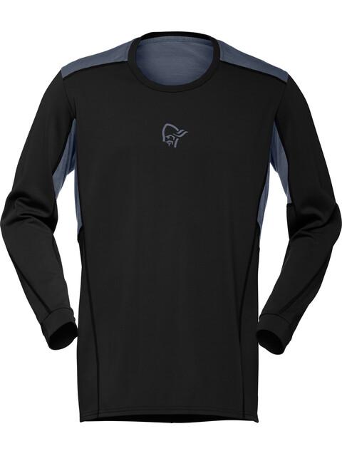 Norrøna M's Falketind Super Wool Shirt Caviar